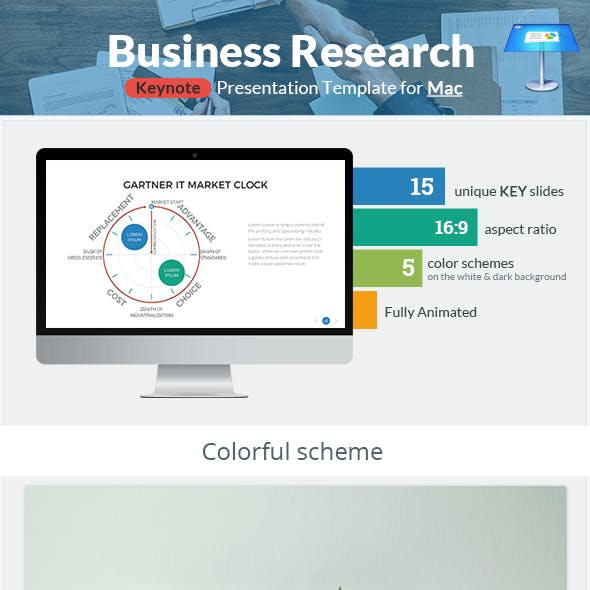 Business Research Keynote Presentation Template