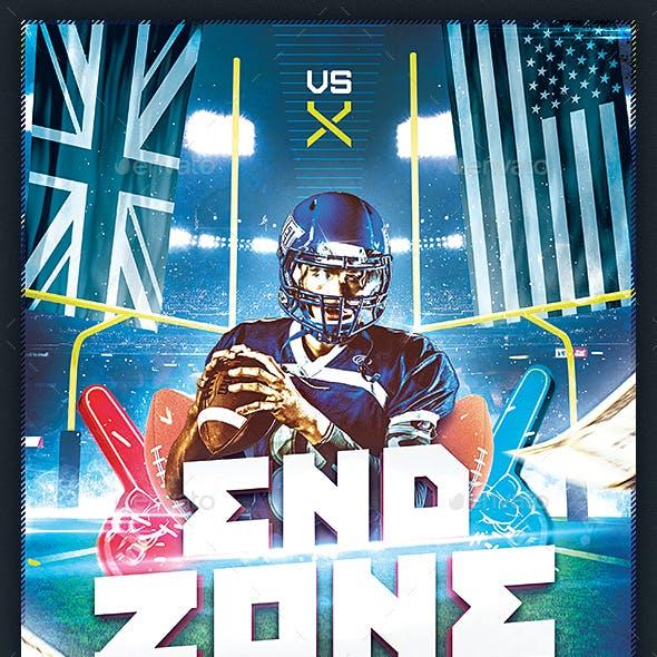 Football Flyer v3 - American Football Night Design Template