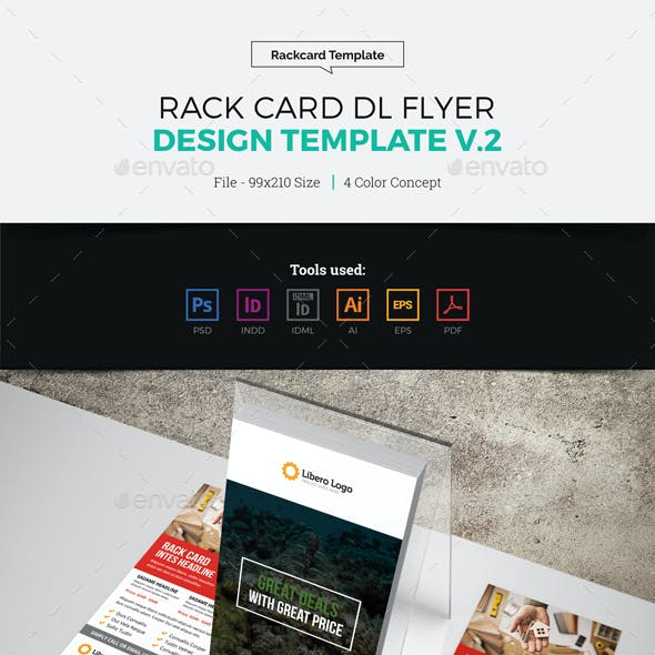 Rack Card DL Flyer Design v2