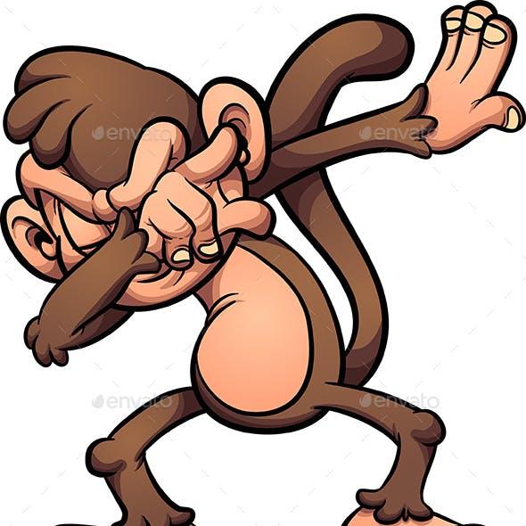 Dabbing Monkey