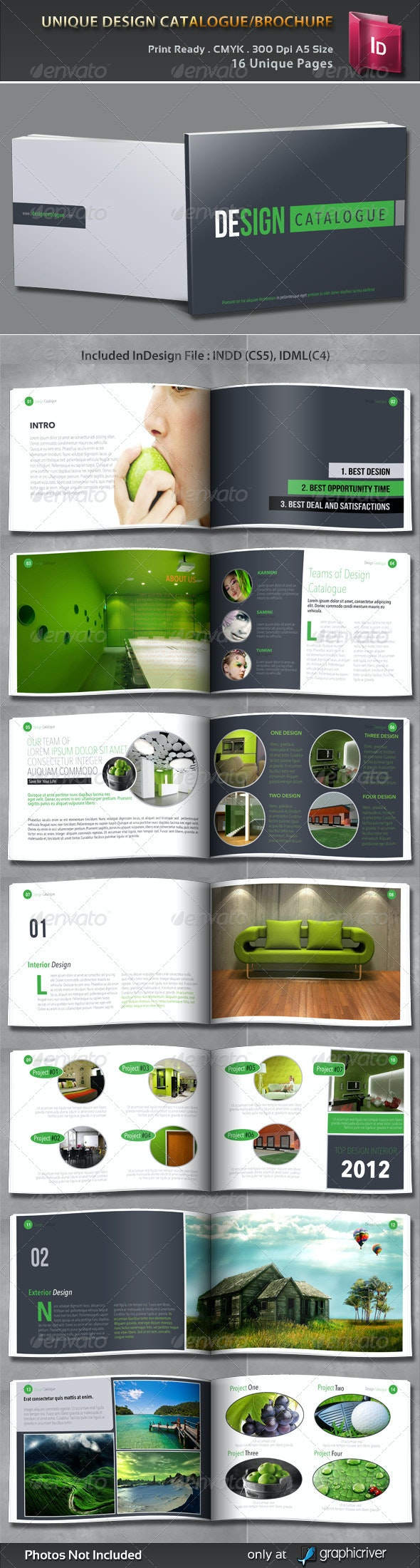 Unique Design Catalogue/Brochure - Corporate Brochures