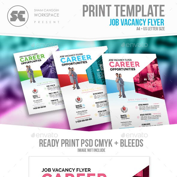 Career Recruitment Flyer