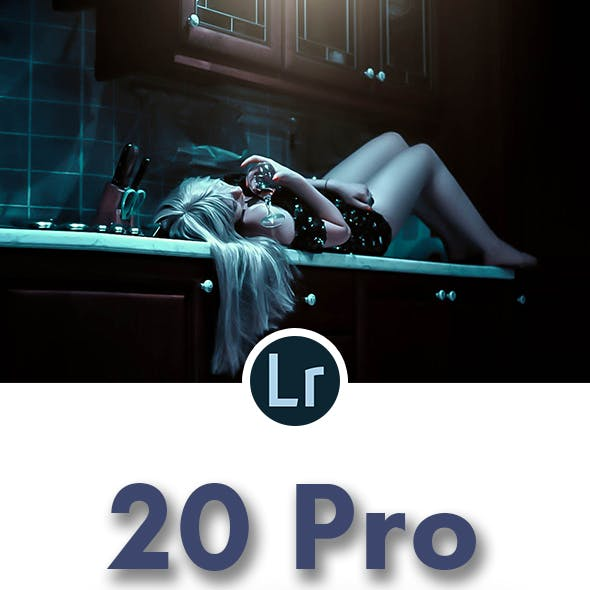 20 Pro Premium Lightroom Preset