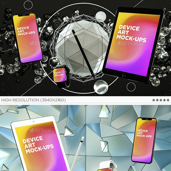Device Art MockUps Vol.1