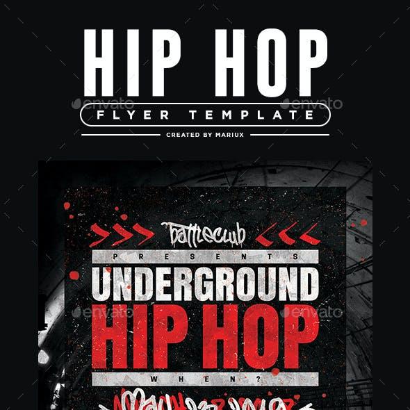 Underground Hip Hop Flyer/Poster