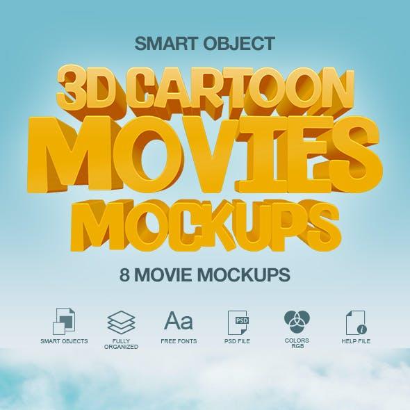 3D Text Effect / 3D Cartoon Text Effects