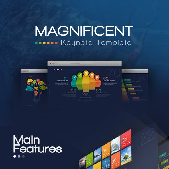 Magnificent Keynote Presentation Template