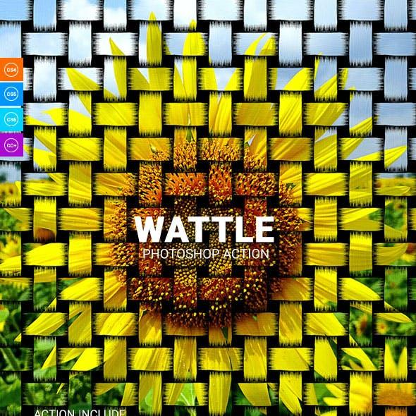 Wattle Photoshop Action