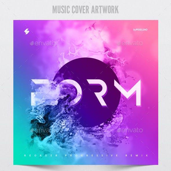 Form - Music Album Cover Artwork Template