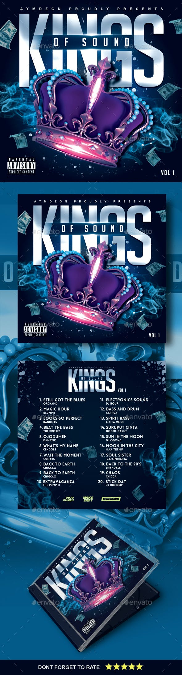 Kings of Sound Mixtape Cover