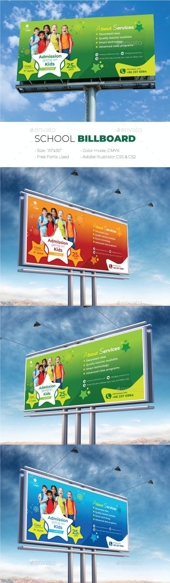 School Billboard