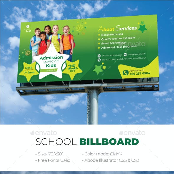 School Billboard