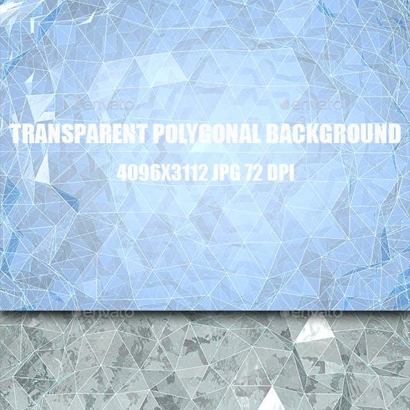 Transparent Polygonal Background