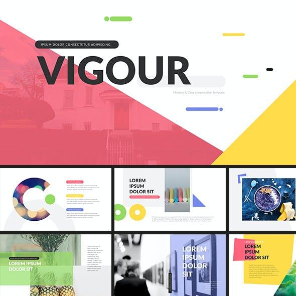Vigour - Keynote Presentation Template