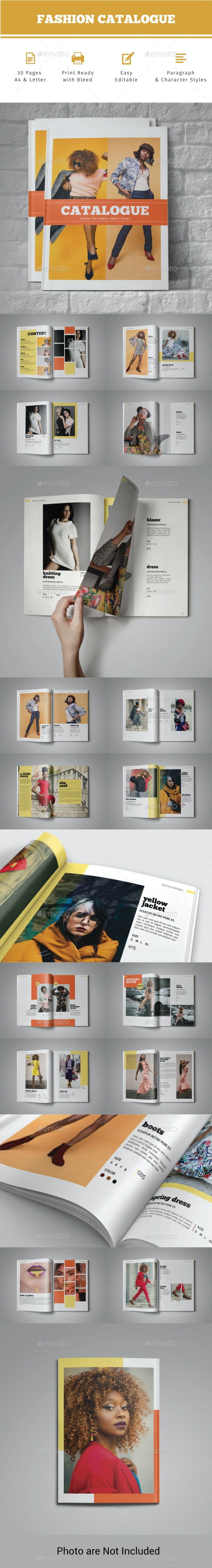 Indesign Catalog Template - Catalogs Brochures