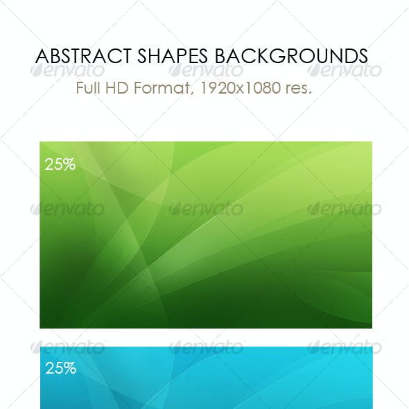 Abstract shapes backgrounds, wallpapers (Full HD)