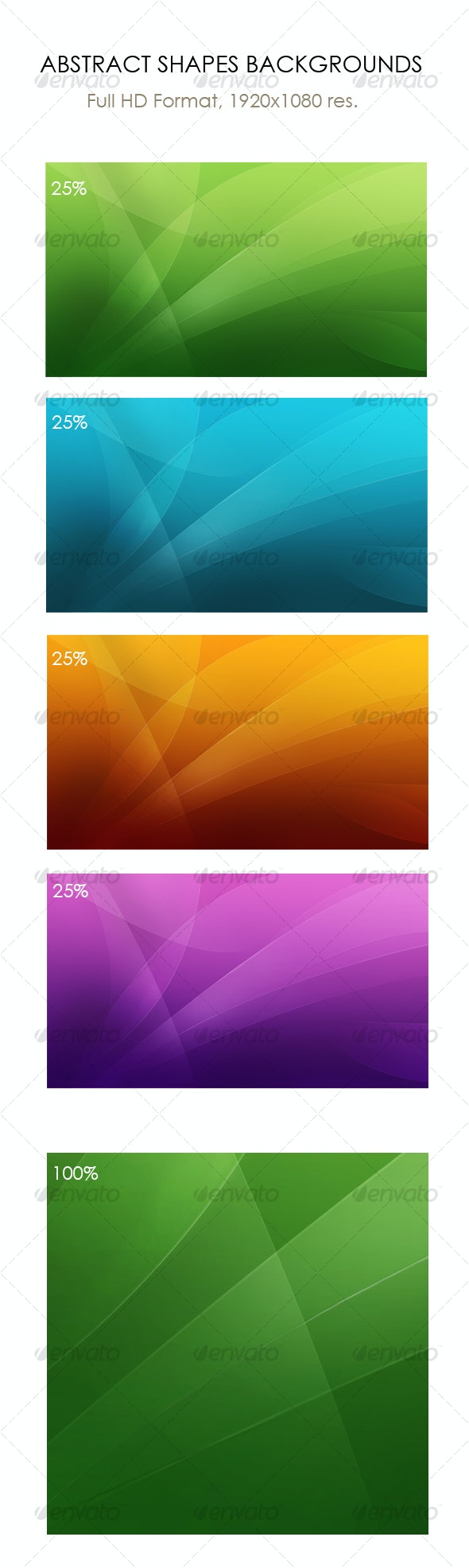 Abstract shapes backgrounds, wallpapers (Full HD) - Backgrounds Graphics