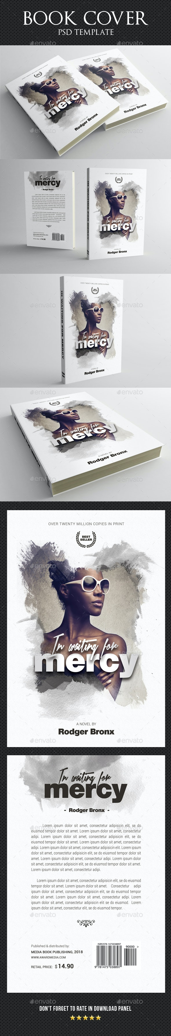 Book Cover Template 44 - Miscellaneous Print Templates