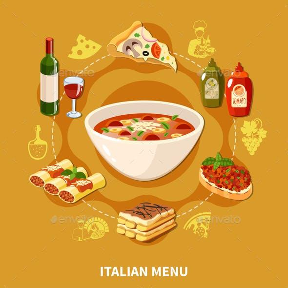 Italian Cuisine Set