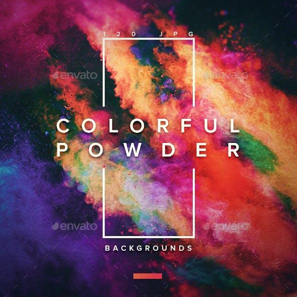 120 Сolorful Powder Backgrounds