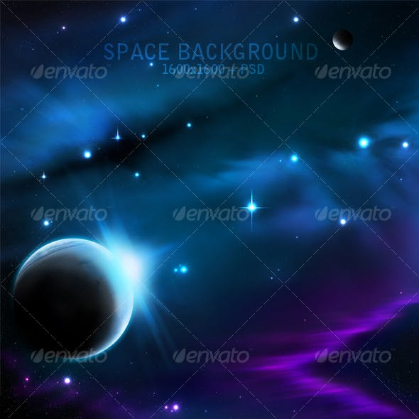 Hight Quality Space Background