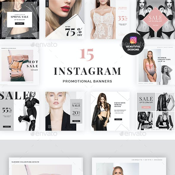 Instagram Promotional Banners