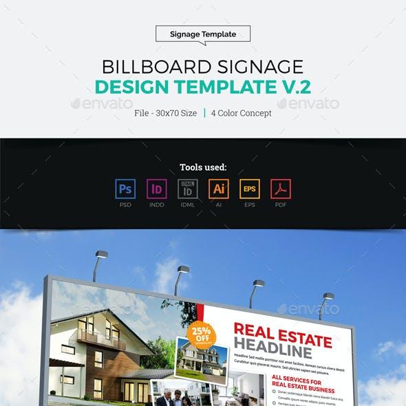 Billboard Signage Design v2