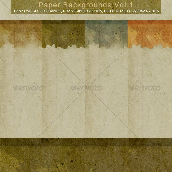 Paper Backgrounds VOL.1
