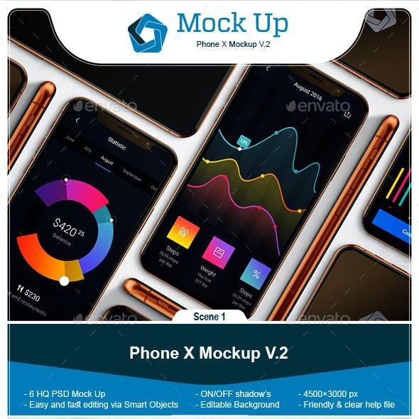 Phone X Mockup V.2