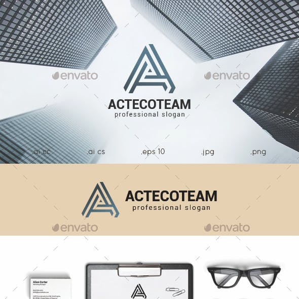 A Letter Logo Template
