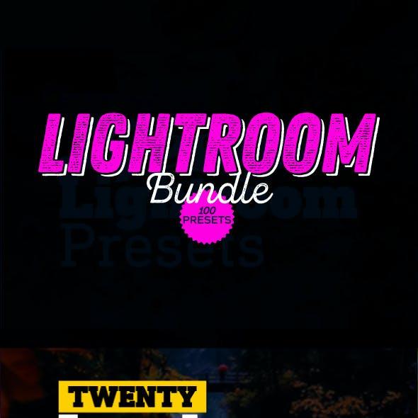 100 Lightroom Presets Bundle