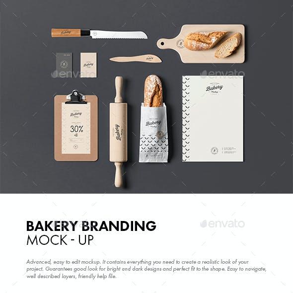 Bakery Branding Mock-up