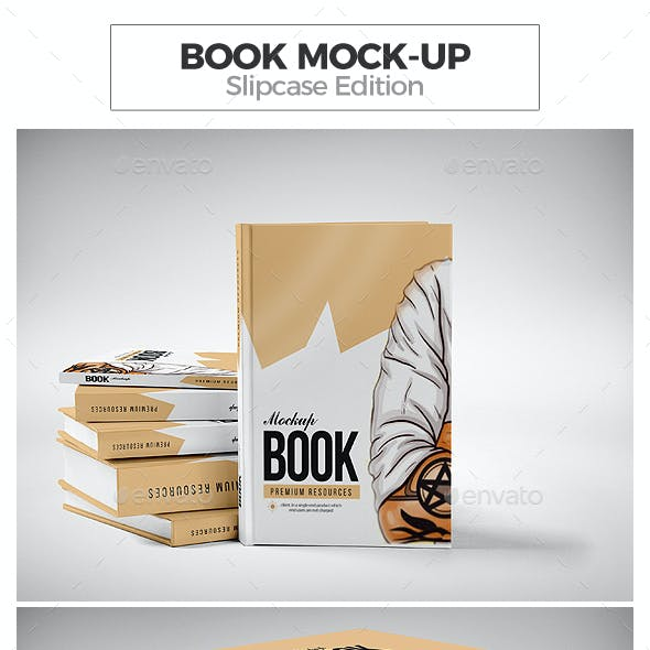 Book Mock-up / Slipcase Edition