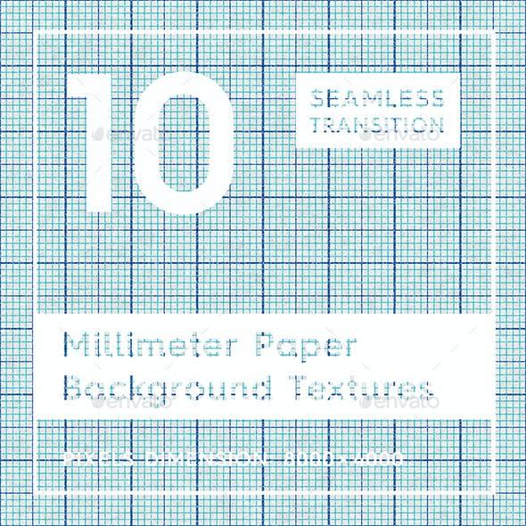 10 Millimeter Paper Background Textures
