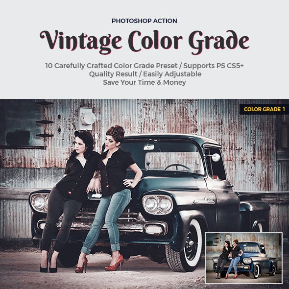 Vintage Color Grade