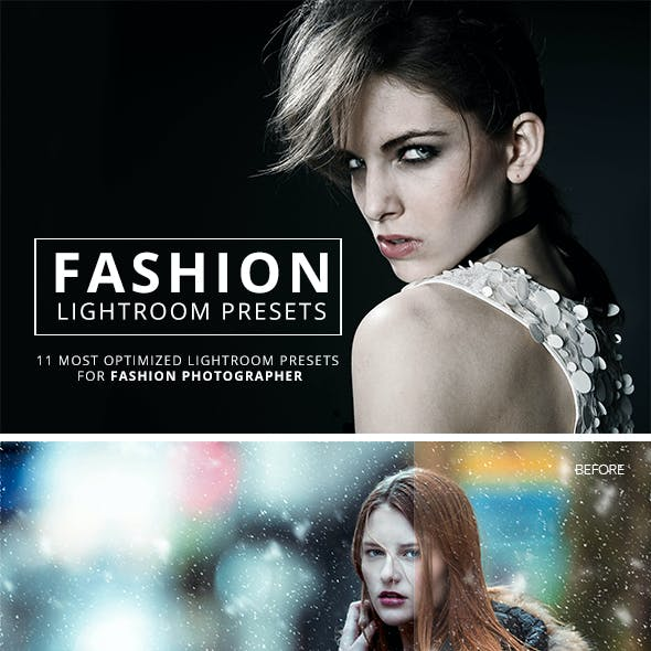 11  Fashion Lightroom Presets
