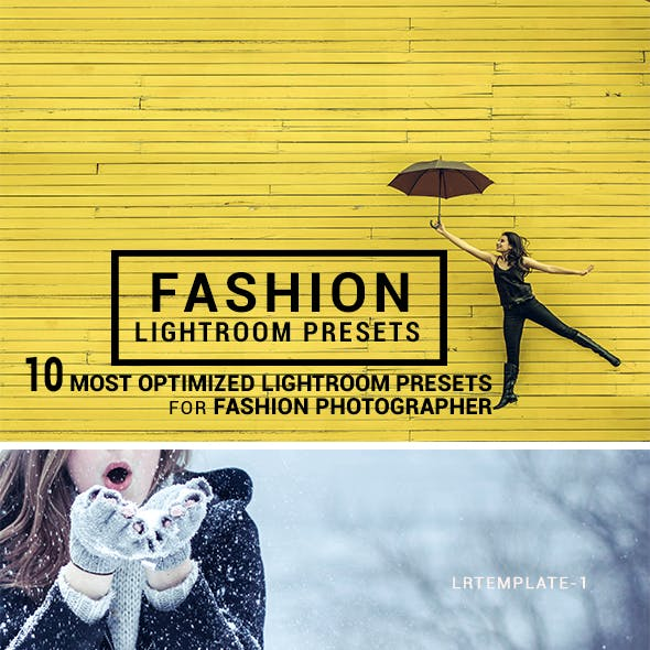 10 Fashion Lightroom Presets 2