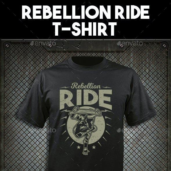 Rebellion Ride T-shirt design