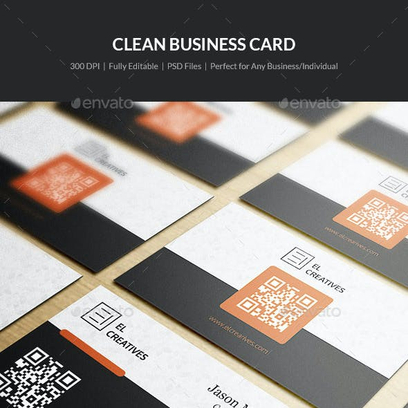 Clean Business Card - 21
