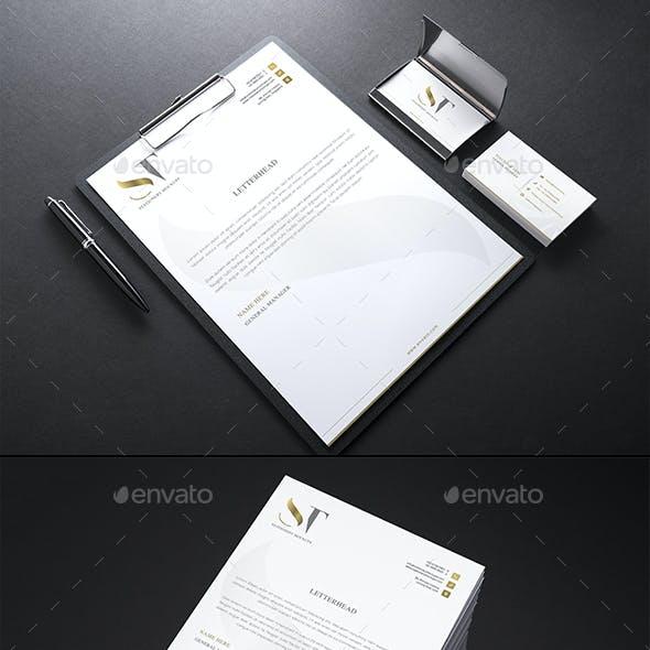 Realistic Branding - Stationery - Corporate ID Mockups Set2