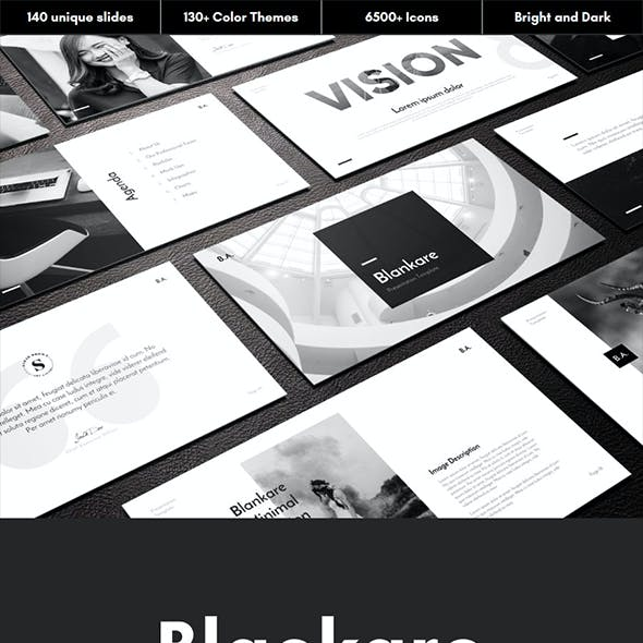 Blackare Multipurpose PowerPoint Template