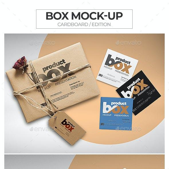 Box Mock-Up / Cardboard Edition
