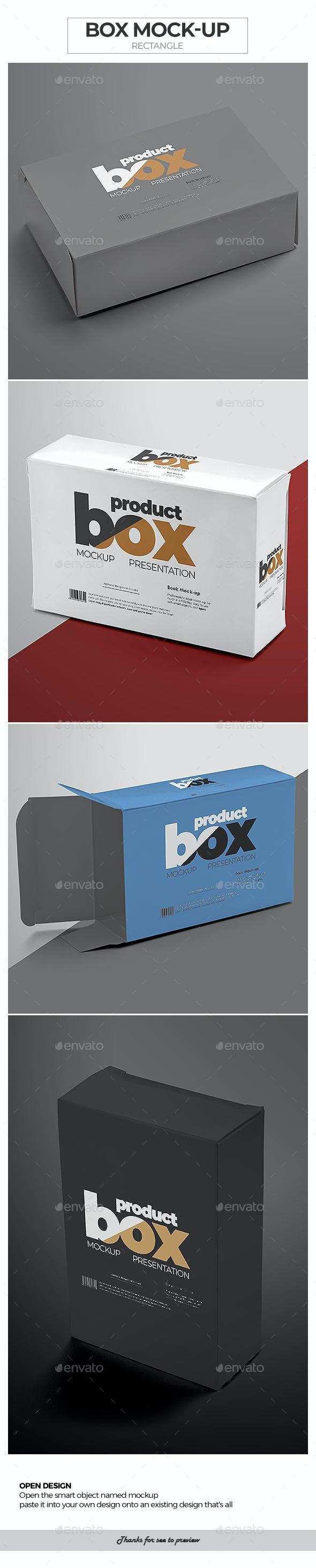 Box Mock-Up / Rectangle
