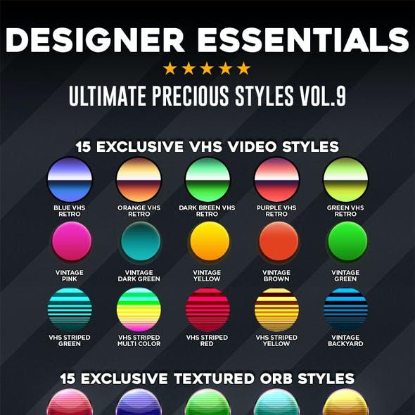 Designer Essentials Ultimate Precious Styles Vol.9