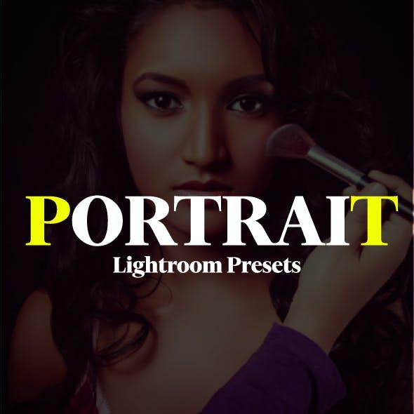 20 Portrait Retouching Lightroom Presets