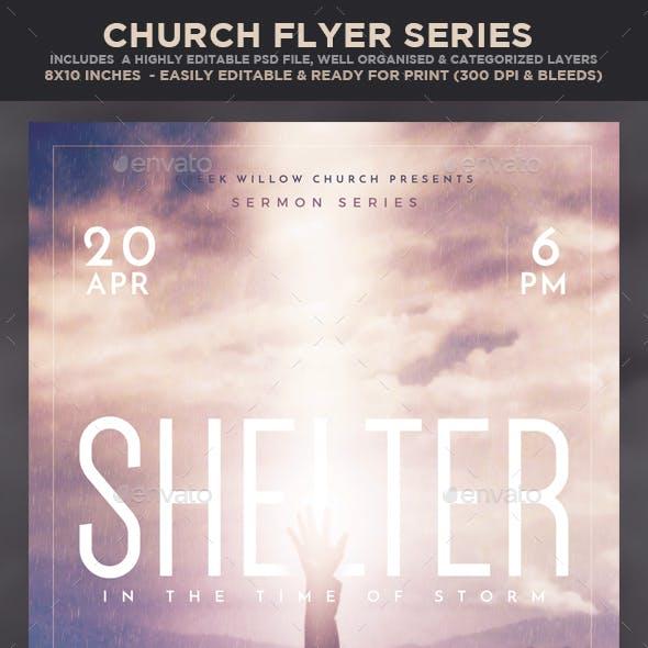 Church/Christian Themed Event Flyer - Shelter