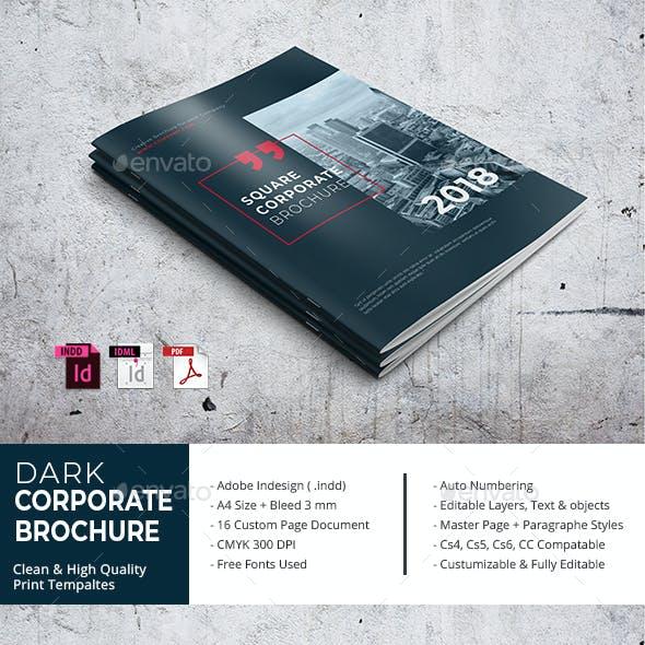Dark Corporate Brochure