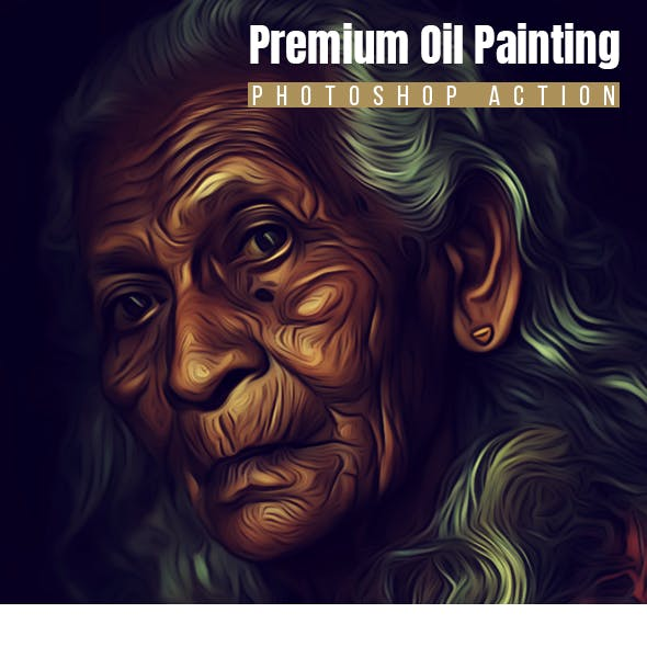 Premium Oil Painting Action