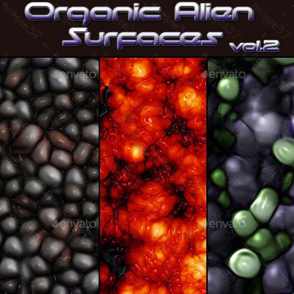Organic Alien Surfaces Vol 2