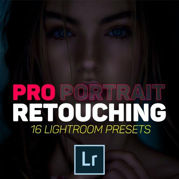 16 Pro Portrait Retouching Lightroom Presets